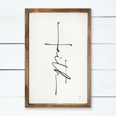 Faith Cross Wall Art