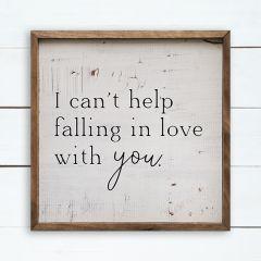 Falling In Love Lyric Wall Art