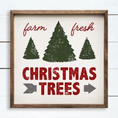 Farm Fresh Christmas Trees Wall Sign