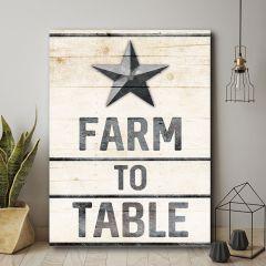 Farm to Table Wall Art