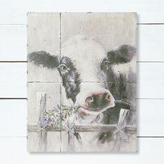 Farmhouse Cow Painting Wall Decor