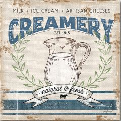 Farmhouse Creamery Canvas Wall Art