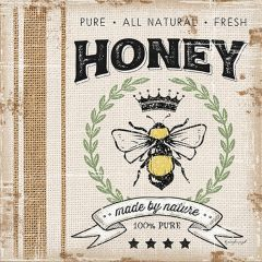 Farmhouse Honey Canvas Wall Art