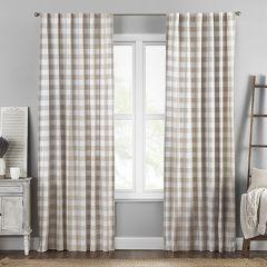 Classic Buffalo Check Window Curtain Panel Set of 2