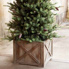 Farmhouse Tree Box Planter