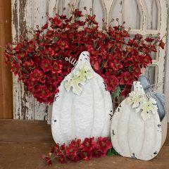 Faux Delphinium Flower Stem Bundle