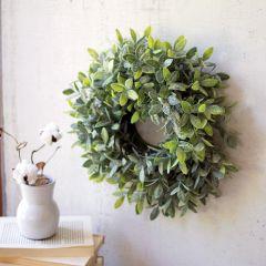 Faux Sage Wreath
