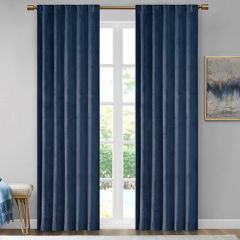 Deep Solid Darkening Curtain Panels Set of 2