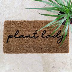 Plant Lady Coir Doormat