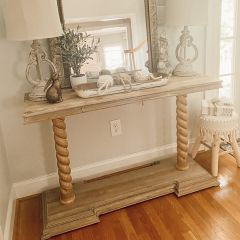 Console Table With Carved Legs