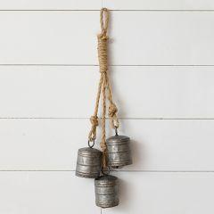 Bells On Rope Door Hanger