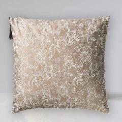 Floral Tole Pattern Accent Pillow