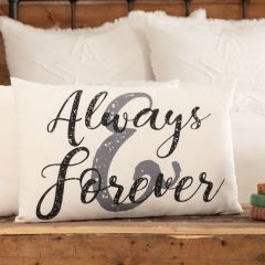 Always And Forever Accent Pillow