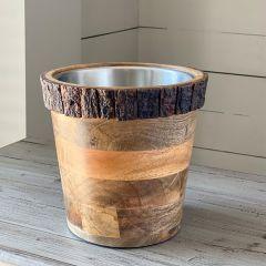 Primitive Farmhouse Ice Bucket