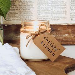 Cottage Kitchen Jar Candle