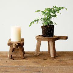 Fir Wood Display Pedestal
