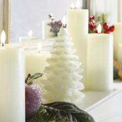 Flameless Christmas Tree Candle