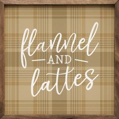 Flannel And Lattes Wall Decor