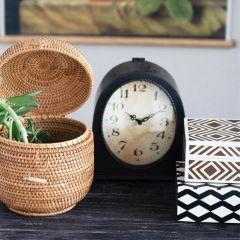 French Country Classic Mantel Clock