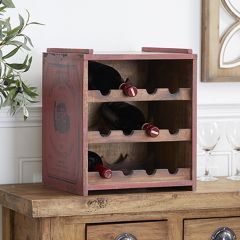 French Country Cottage Wine Rack
