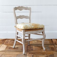 French Country Cushioned Dining Chair Set of 2 Bundle| SHIPS FREE