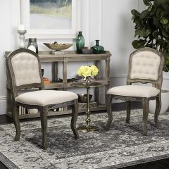 French Country Dining Chair, Set of 2