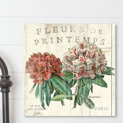 French Country Hydrangea Canvas Wall Art