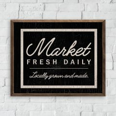 Fresh Daily Market Wall Art