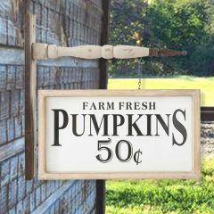 Fresh Pumpkins Arrow Sign Replacement