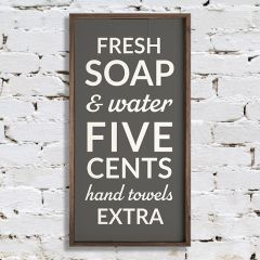 Fresh Soap Wall Art