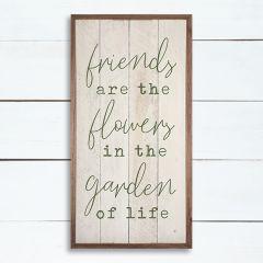 Friends are Like Flowers Wall Art