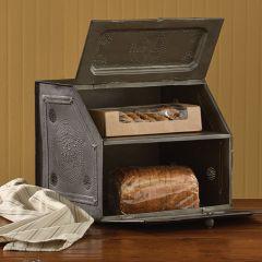 Galvanized Metal farmhouse Bread Box
