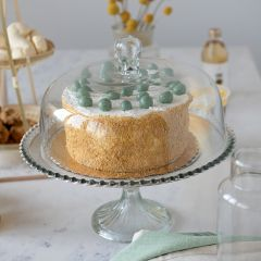 Glass Cake Stand With Cloche
