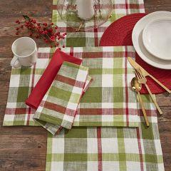 Winter Plaid Farmhouse Placemat Bundle