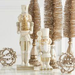 Glittered Holiday Nutcracker