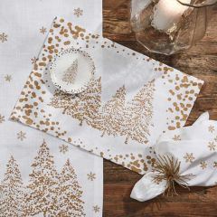 Golden Pines Placemat Set of 4