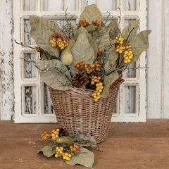 Gourd and Berry Decorative Fall Pick Bundle