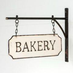 Hanging Metal Bakery Sign