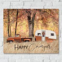 Happy Camper Autumn Wall Art