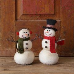 Happy Snowmen Friends Set of 2