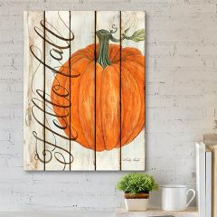 Hello Fall Farmhouse Wall Art