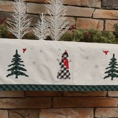 Holiday Accents Mantel Scarf
