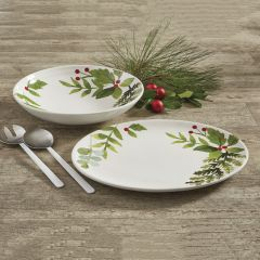 Holiday Berry Serving Dish