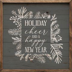Holiday New Year Wall Art