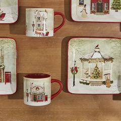 Holiday Village Town Mug Bundle