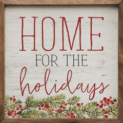 Home For The Holidays Berries Wall Art