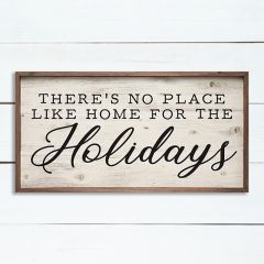 Home for the Holidays Wall Sign