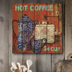 Hot Coffee Canvas Wall Art