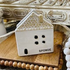 House Shaped Sponge Holder set of 2
