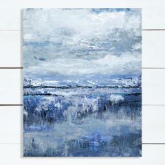 Impressionist Landscape With Sky Wall Art